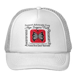 Brain Cancer Butterfly Inspirations Cap