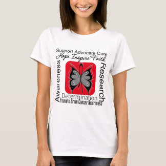 Brain Cancer Butterfly Inspirations T-Shirt