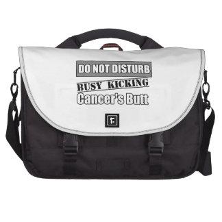 Brain Cancer Do Not Disturb Kicking Butt Bags For Laptop