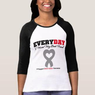 Brain Cancer Every Day I Miss My Best Friend T-shirt