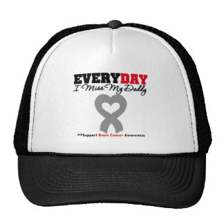 Brain Cancer Every Day I Miss My Daddy Mesh Hats