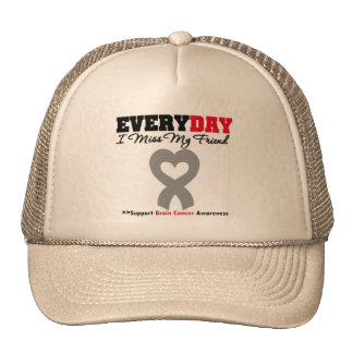 Brain Cancer Every Day I Miss My Friend Mesh Hat