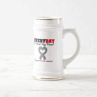 Brain Cancer Every Day I Miss My Friend Coffee Mugs