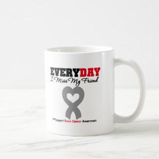 Brain Cancer Every Day I Miss My Friend Coffee Mug