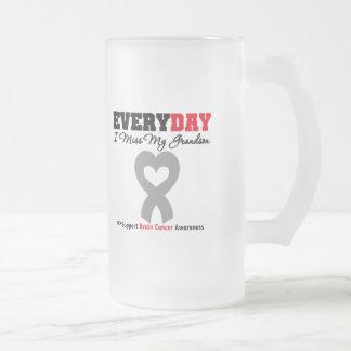 Brain Cancer Every Day I Miss My Grandson Coffee Mug