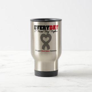 Brain Cancer Every Day I Miss My Nephew Coffee Mug