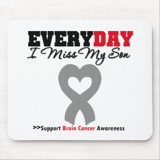 Brain Cancer Every Day I Miss My Son Mouse Mat