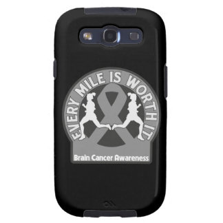 Brain Cancer Every Mile Is Worth It Galaxy SIII Case