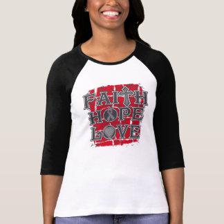 Brain Cancer Faith Hope Love Tshirt