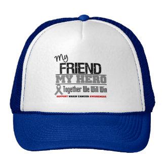 Brain Cancer Friend Hero Hats