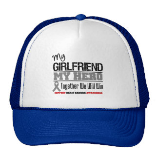 Brain Cancer Girlfriend Hero Cap