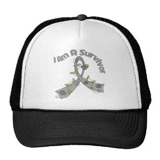 Brain Cancer I Am A Survivor Hats