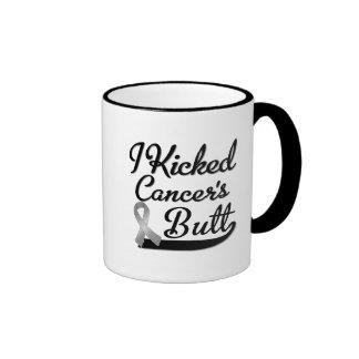 Brain Cancer I Kicked Butt Coffee Mugs
