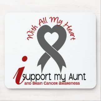 Brain Cancer I Support My Aunt Mouse Pad