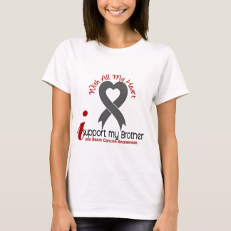 Brain Cancer I Support My Brother T-Shirt