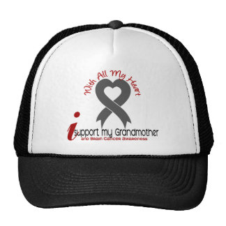 Brain Cancer I Support My Grandmother Cap