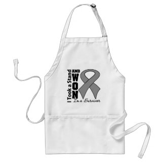 Brain Cancer I Took a Stand and Won Apron