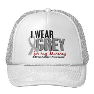 BRAIN CANCER I Wear Grey For My Mommy 10 Trucker Hat