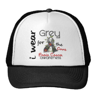 Brain Cancer I Wear Grey For The Cure 43 Cap