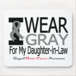 Brain Cancer I Wear Grey Ribbon Daughter-in-Law