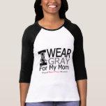 Brain Cancer I Wear Grey Ribbon For My Mum