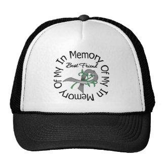 Brain Cancer In Memory of My Best Friend Cap