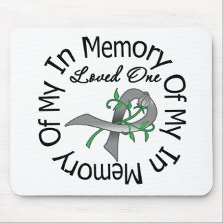 Brain Cancer In Memory of My Loved One Mouse Pad