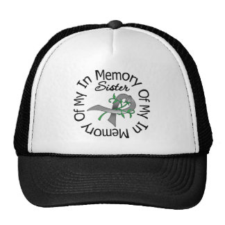 Brain Cancer In Memory of My Sister Hat