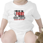 Brain Cancer IN THE FIGHT 1 Dad Baby Creeper
