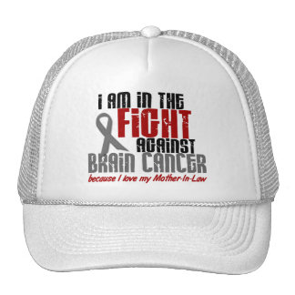 Brain Cancer IN THE FIGHT 1 Mother-In-Law Trucker Hat