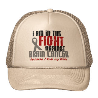 Brain Cancer IN THE FIGHT 1 Wife Mesh Hat
