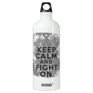 Brain Cancer Keep Calm and Fight On SIGG Traveller 1.0L Water Bottle