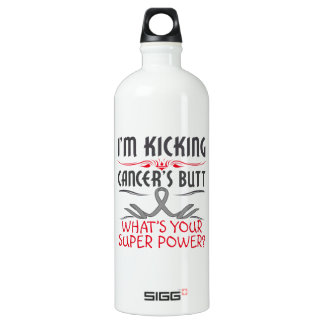 Brain Cancer Kicking Cancer Butt Super Power SIGG Traveller 1.0L Water Bottle
