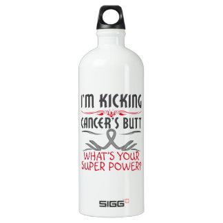 Brain Cancer Kicking Cancer Butt Super Power SIGG Traveller 1.0L Water Bottle