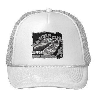 Brain Cancer - Men Run For A Cure Trucker Hat