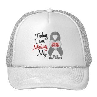 Brain Cancer Missing Miss My Grandmother 1 Trucker Hat