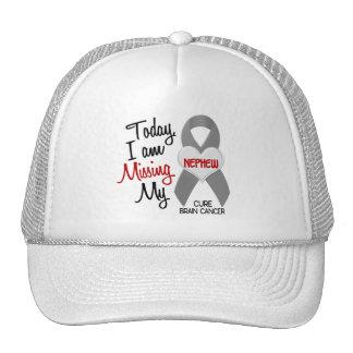 Brain Cancer Missing Miss My Nephew 1 Mesh Hats