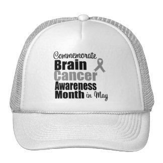 Brain Cancer Month - Commemorate Hats