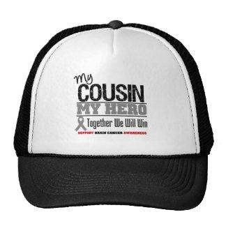 Brain Cancer My Cousin My Hero Trucker Hat