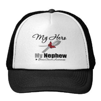 Brain Cancer My Hero My Nephew Mesh Hat