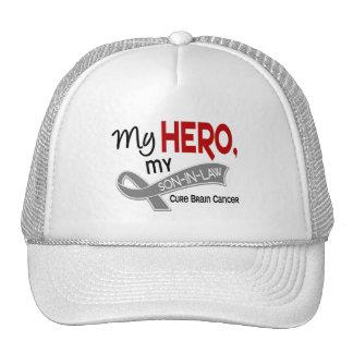Brain Cancer MY HERO MY SON-IN-LAW 42 Trucker Hat