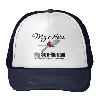 Brain Cancer My Hero My Son-in-Law Hats