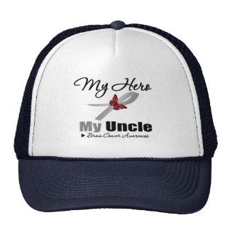 Brain Cancer My Hero My Uncle Mesh Hat