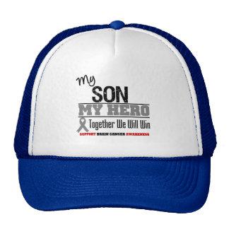 Brain Cancer My Son My Hero Together We Will Trucker Hat