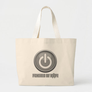 Brain Cancer Powered by Hope Tote Bag