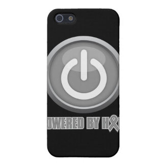 Brain Cancer Powered by Hope iPhone 5 Cover