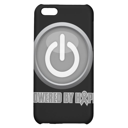 Brain Cancer Powered by Hope iPhone 5C Cover