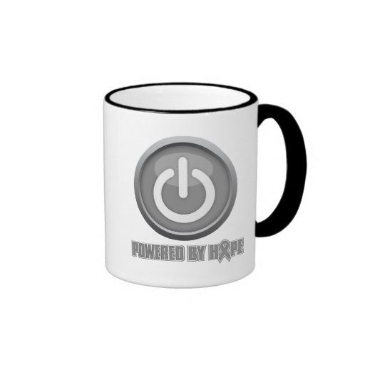 Brain Cancer Powered by Hope Coffee Mugs