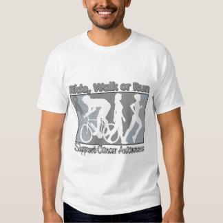 Brain Cancer Ride Walk Run T Shirt