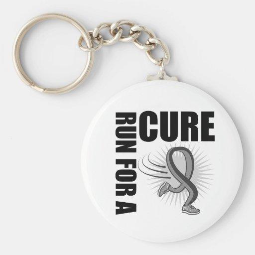 Brain Cancer Run For a Cure Key Chains